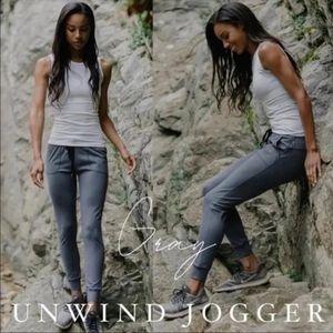Zyia Grey Unwind Joggers size large